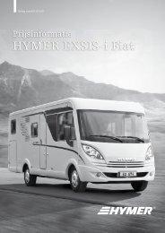 HYMER EXSIS-i Fiat - ERIBA-HYMER Nederland