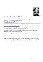 Wā'ōmar (Zech 3:5) and the Genre of Zechariah's ... - Ericlevy.com
