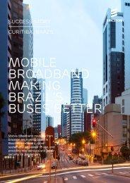 MOBILE BROADBAND MAKING BRAZIL'S BUSES BETTER - Ericsson