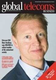 OSS/BSS is critical enabler of the networked society - Ericsson