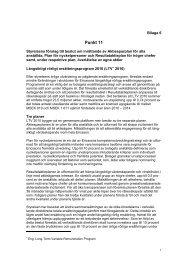 Styrelsens förslag till beslut om inrättande av ... - Ericsson