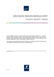 ERICSSON REGION MIDDLE EAST
