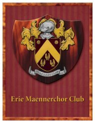 Cheese - Erie Maennerchor Club