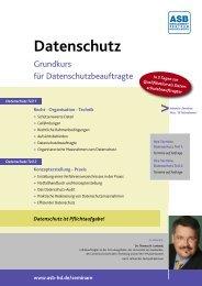 Datenschutz - ASB Bildungsgruppe Heidelberg e.V. – Seminare und ...