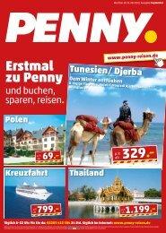 Penny Reisen Katalog September 2013