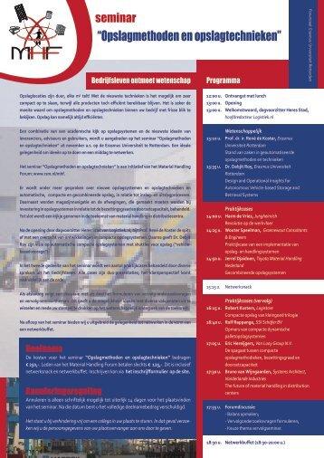 De brochure (pdf) - ERIM - Erasmus Universiteit Rotterdam