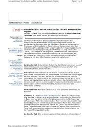 Seite 1 von 5 Antisemitismus: Wo die Kritik aufhört und ... - Erinnern