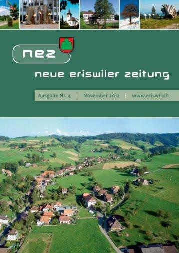 Neue Eriswiler Zeitung Ausgabe 04/2012