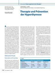 Therapie und Prävention der Hyperthyreose - Erkan Arslan