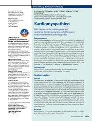 Kardiomyopathien - Erkan Arslan