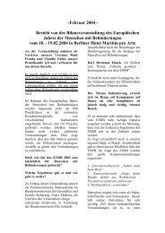 Februar 2004 - Bericht von der Bilanzveranstaltung ... - Asbh Potsdam