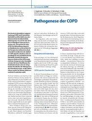 Pathogenese der COPD - Erkan Arslan