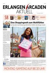 MONTAG SAMSTAG AUF BIS 20 UHR - Erlangen Arcaden