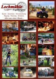 Event – Incentive - Lochmühle