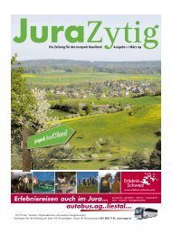 Jura-Zytig - Erlebnisraum Tafeljura