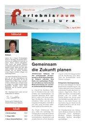 206708 Newsletter Tafeljura - Erlebnisraum Tafeljura