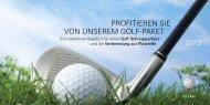 PROFiTiEREN siE VON UNsEREM GOLF-PAKET ... - Golfclub Erlen