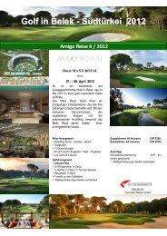 Amigo Reise Amigo Reise II / 2012 II / 2012