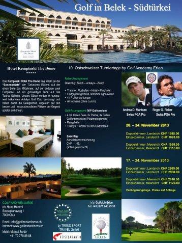 Folie 1 - Golfclub Erlen