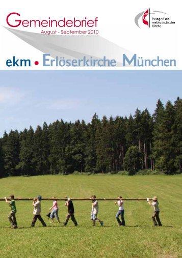 September 2010 - EMK Erlöserkirche München ...