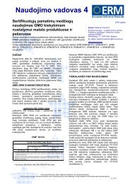 Certificate of - IRMM - Europa