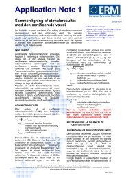Application Note 1 - the JRC's Institute for Reference Materials and ...