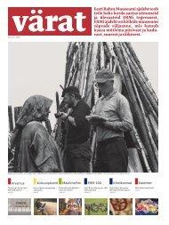 värat Eesti Rahva Muuseumi ajaleht toob teile kaks korda aastas ...