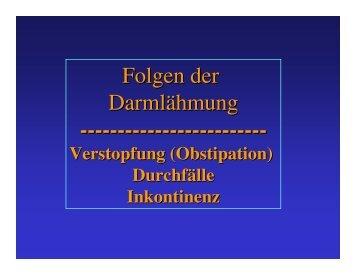 bei chronischer Verstopfung + ... - ASBH Hamburg