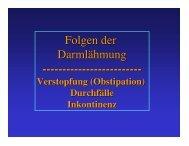 Sicherung der Kontinenz - ASBH Hamburg