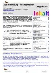 Anmeldung zur Mitgliederversammlung Samstag ... - ASBH Hamburg