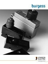 Burgess Switch Catalog Johnson Electric - Ermec