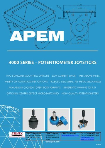 Download 4000 the Series Datasheet - Ermec