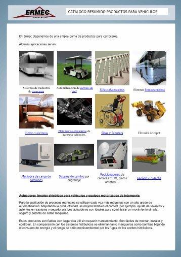 vehículos especiales - Ermec