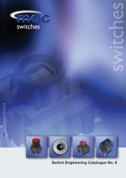 Switch Engineering Catalogue No. 6 - APEM