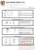 Dressing tools - Mole Abrasivi Ermoli - Page 2