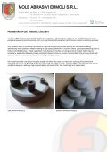 Ceramic bonded CBN and diamond grinding wheels - Mole Abrasivi ... - Page 2