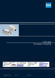 ERNI LDG-M4 Compact Housing - Ermec