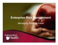 Enterprise Risk Management - ERM Symposium