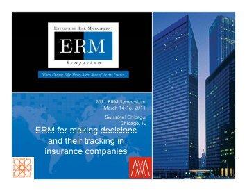 Download Presentation - ERM Symposium