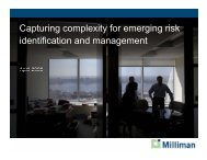 Capturing the Complexity for Emerging Risk ... - ERM Symposium