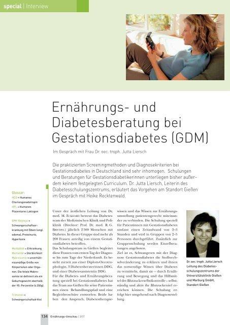 Anstieg HCG Wert Schwangerschaftsdiabetes