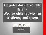 Vortrag Otto Knes - BioLAGO