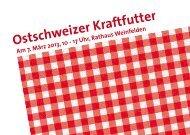 Ostschweizer Kraftfutter