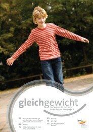 Gleichgewicht 03 2012 - Plattform Ernährung und Bewegung