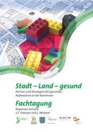 Stadt – Land – gesund Fachtagung - Plattform Ernährung und ...