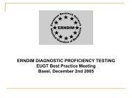 ERNDIM Diagnostic Proficiency Testing