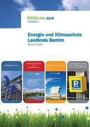 ErneuerBAR Energiebericht 2009 - ERNEUER:BAR - Barnim.de