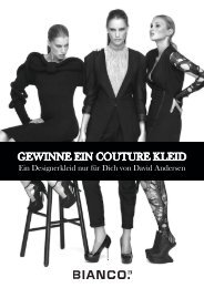 GEWINNE EIN COUTURE KLEID - Ernst-August-Galerie