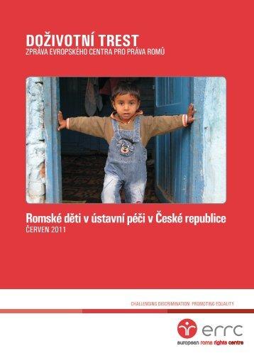 Doživotní trest - European Roma Rights Centre