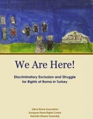 We Are Here! - European Roma Rights Centre